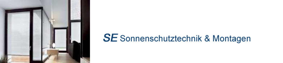 SE Sonnenschutztechnik, Markkleeberg, Montage